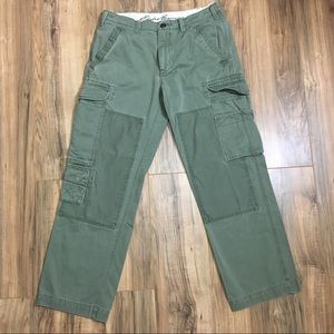 Eddie Bauer Green Cargo Pants Tactical Sz 36